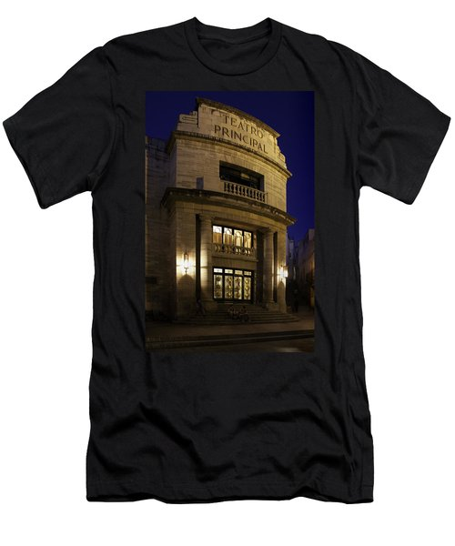 Men's T-Shirt (Slim Fit) featuring the photograph The Meeting Place by Lynn Palmer