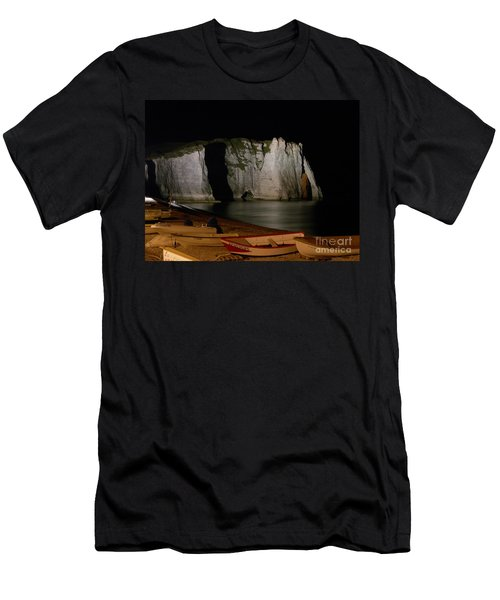The Needle Of Etretat Men's T-Shirt (Athletic Fit)