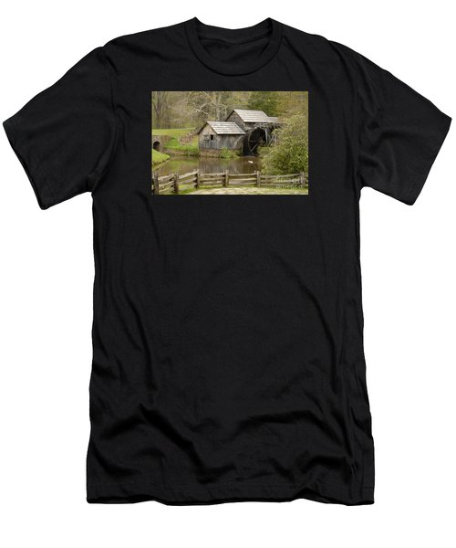 The Old Grist Mill Men's T-Shirt (Athletic Fit)