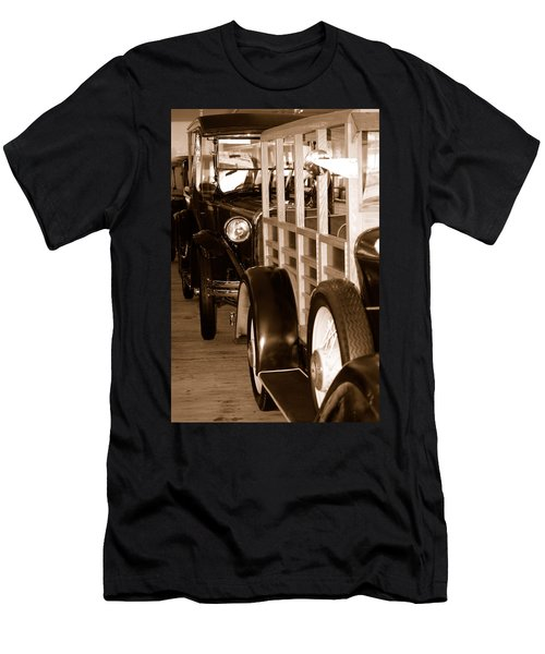 The Old Line Up Men's T-Shirt (Athletic Fit)