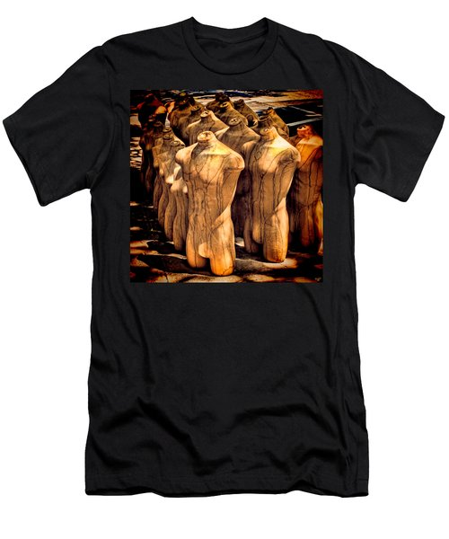 Men's T-Shirt (Slim Fit) featuring the photograph The Protest by Chris Lord