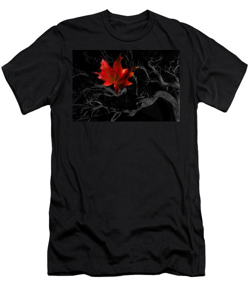 The Red Leaf Men's T-Shirt (Athletic Fit)
