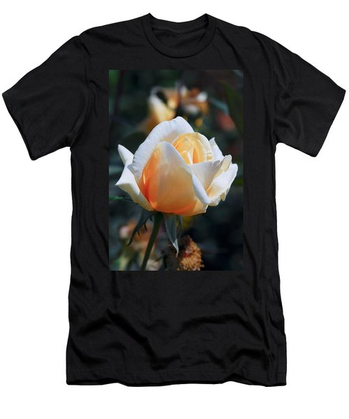 Men's T-Shirt (Slim Fit) featuring the photograph The Rose by Fotosas Photography
