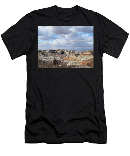 The Sky Clears By Blue Mesa Men's T-Shirt (Athletic Fit)