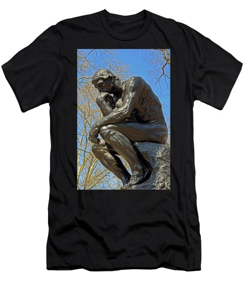 The Thinker By Rodin Men's T-Shirt (Athletic Fit)