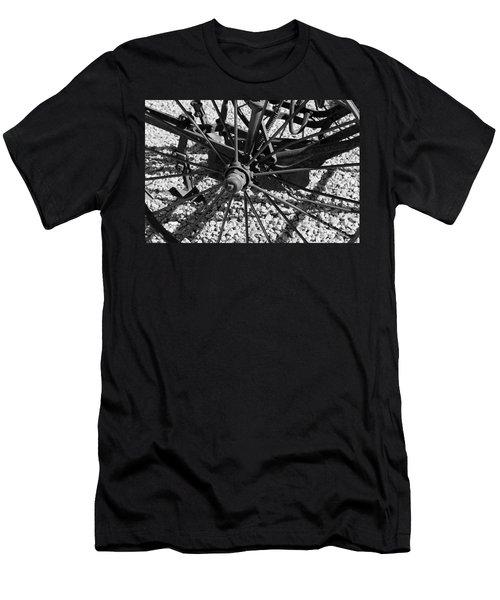 The Wheel Men's T-Shirt (Slim Fit) by Pamela Walrath
