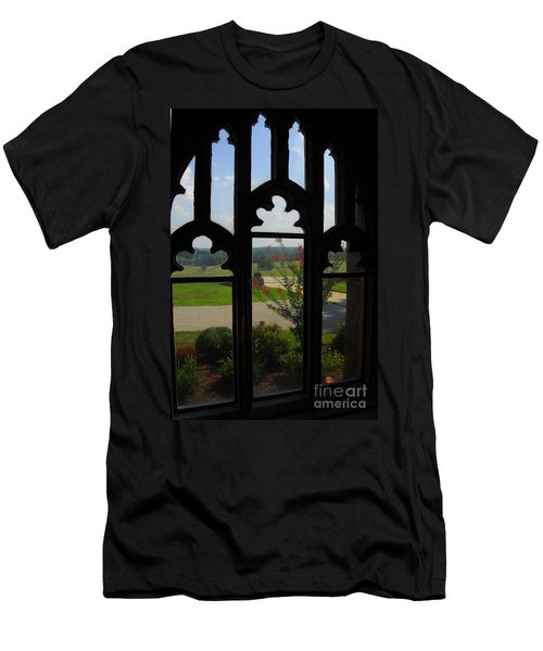 Men's T-Shirt (Slim Fit) featuring the photograph Through The Chapel Arches by Cindy Manero