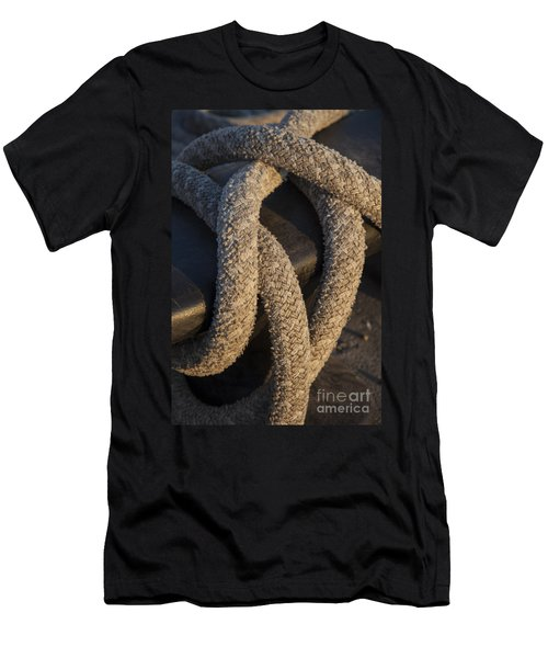 Tie Down Men's T-Shirt (Athletic Fit)