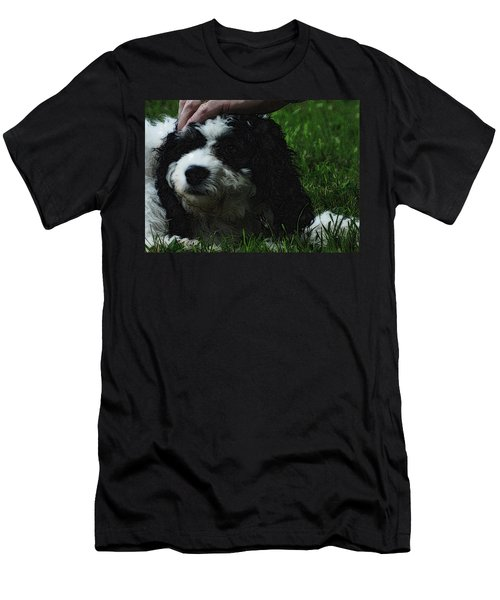 Men's T-Shirt (Slim Fit) featuring the photograph TLC by Lydia Holly
