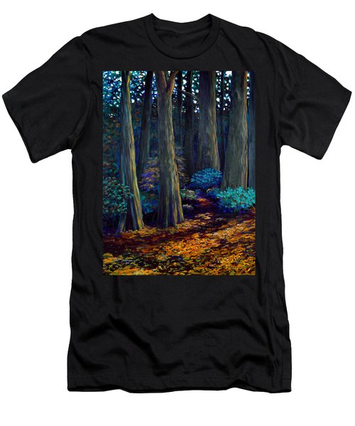 To The Woods Men's T-Shirt (Slim Fit) by Jeanette Jarmon