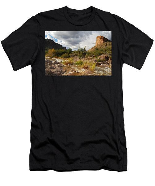 Men's T-Shirt (Slim Fit) featuring the photograph Tortilla Flat by Tam Ryan