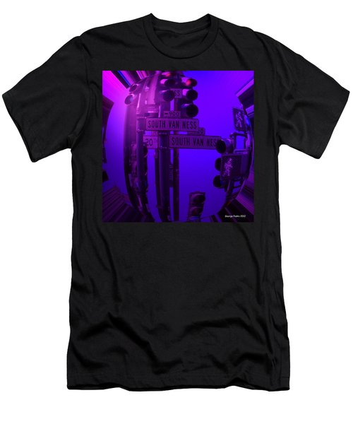 Men's T-Shirt (Slim Fit) featuring the photograph Traffic Stop by George Pedro