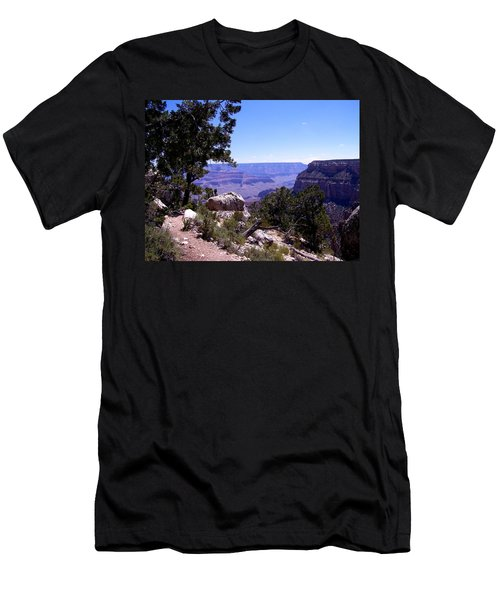 Trail To The Canyon Men's T-Shirt (Athletic Fit)