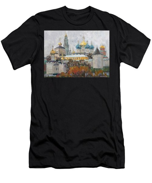 Trinity-st. Sergius Lavra Men's T-Shirt (Athletic Fit)