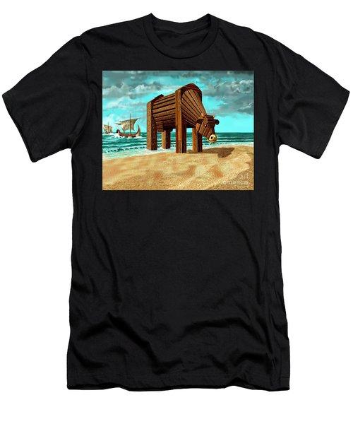 Trojan Cow Men's T-Shirt (Athletic Fit)