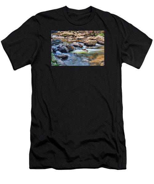 Trout Stream Men's T-Shirt (Athletic Fit)