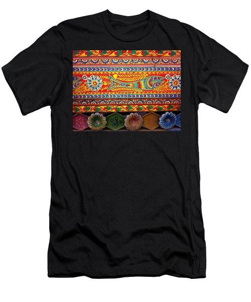 Truck Art Detail Men's T-Shirt (Athletic Fit)