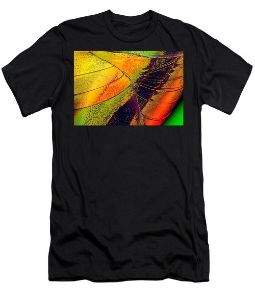 Men's T-Shirt (Slim Fit) featuring the photograph Turning Purple  by David Pantuso