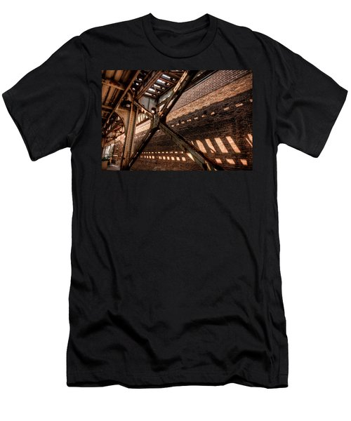 Under The L Tracks Men's T-Shirt (Athletic Fit)
