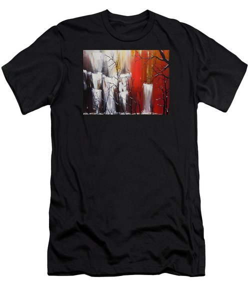 Valley Of Shadows Men's T-Shirt (Slim Fit) by Dan Whittemore