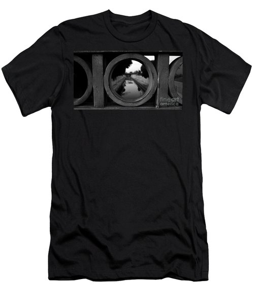 Men's T-Shirt (Slim Fit) featuring the photograph View From The Bridge by Nina Prommer