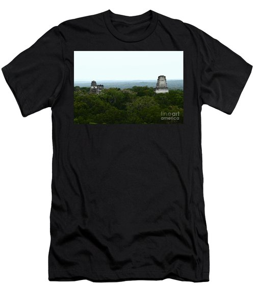 View From The Top Of The World Men's T-Shirt (Slim Fit) by Kathy McClure