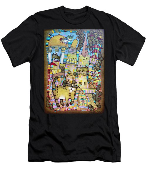 Villages Of My Childhood Men's T-Shirt (Athletic Fit)