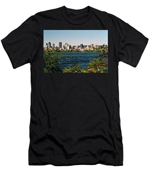 Men's T-Shirt (Slim Fit) featuring the photograph Ville De Montreal by Juergen Weiss