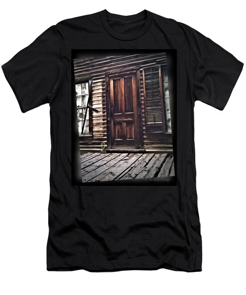 Virginia City Ghost Town Door I Men's T-Shirt (Athletic Fit)