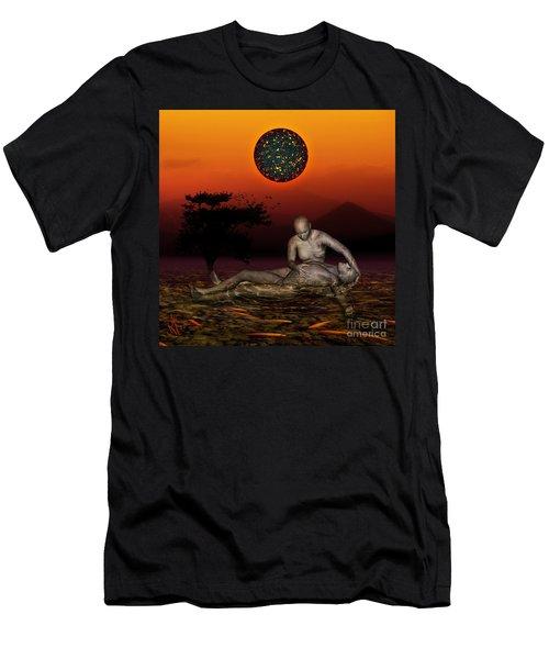 Volcanos Pieta Men's T-Shirt (Athletic Fit)
