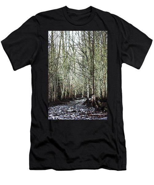 Walk Along The Dungeness Men's T-Shirt (Athletic Fit)