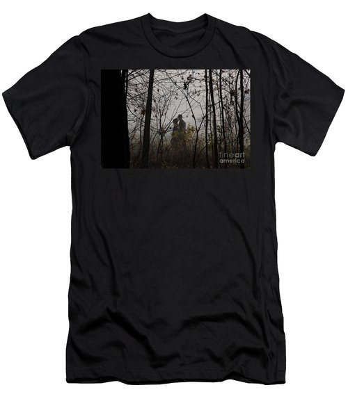 Walking To Church Men's T-Shirt (Athletic Fit)