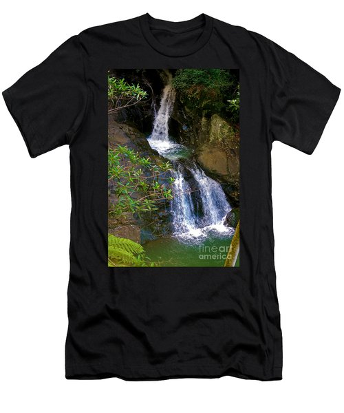Waterfall In The Currumbin Valley Men's T-Shirt (Athletic Fit)