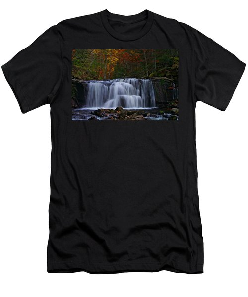 Waterfall Svitan Men's T-Shirt (Athletic Fit)