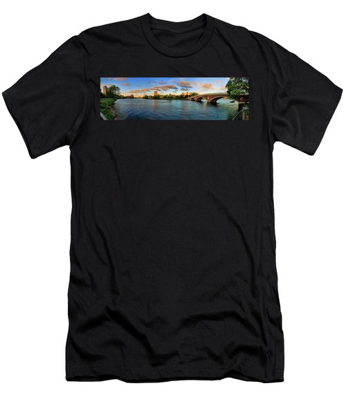 Weeks' Bridge Panorama Men's T-Shirt (Athletic Fit)