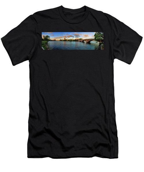 Weeks' Bridge Panorama Men's T-Shirt (Athletic Fit)