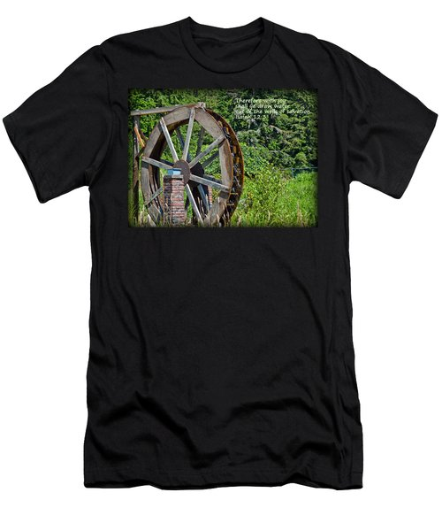 Wells Of Salvation Men's T-Shirt (Athletic Fit)