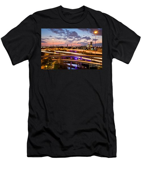 West Houston Around Dowtown Men's T-Shirt (Athletic Fit)