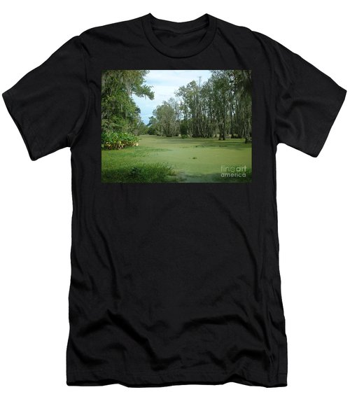Men's T-Shirt (Slim Fit) featuring the photograph Wet Feet by Mark Robbins