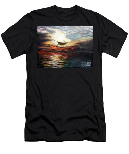 What Dreams May Come.. Men's T-Shirt (Slim Fit) by Jolanta Anna Karolska