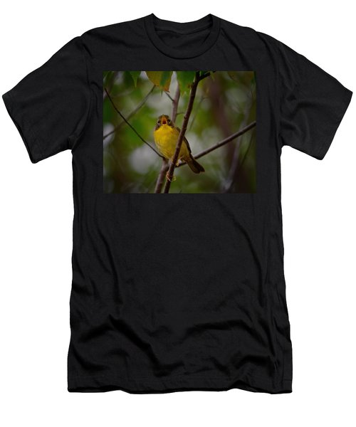 What Warblers Do Men's T-Shirt (Athletic Fit)