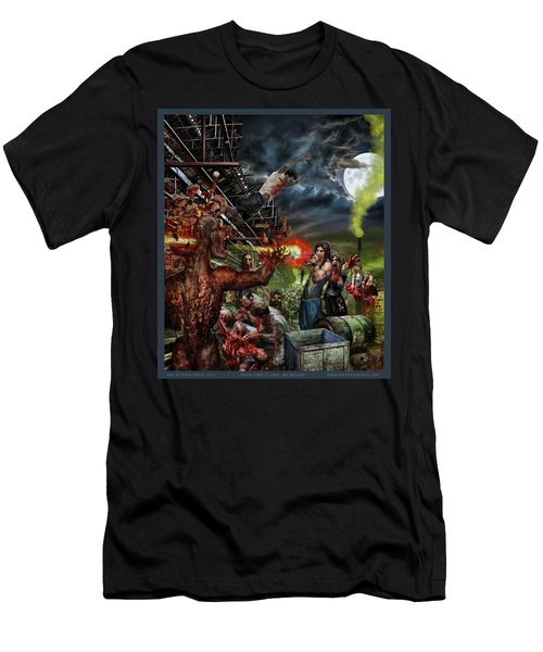 When Food Is Gone We Become.. Men's T-Shirt (Slim Fit) by Tony Koehl