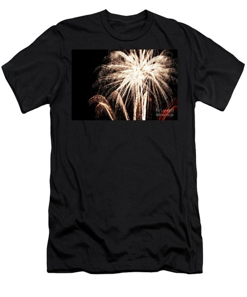 White Explosion Men's T-Shirt (Athletic Fit)