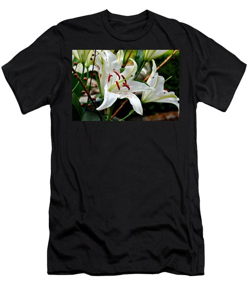 Mother's Day  Lilies  Men's T-Shirt (Athletic Fit)