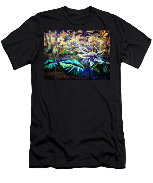 White Lotus Men's T-Shirt (Athletic Fit)