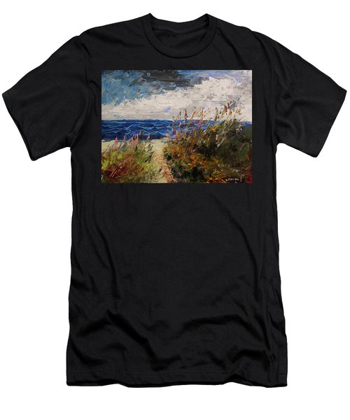 Wildflowers And Wind Men's T-Shirt (Athletic Fit)