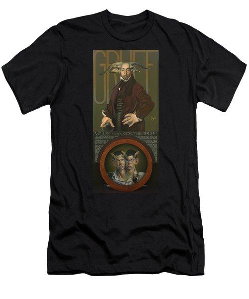 Willie Von Goethegrupf Men's T-Shirt (Athletic Fit)