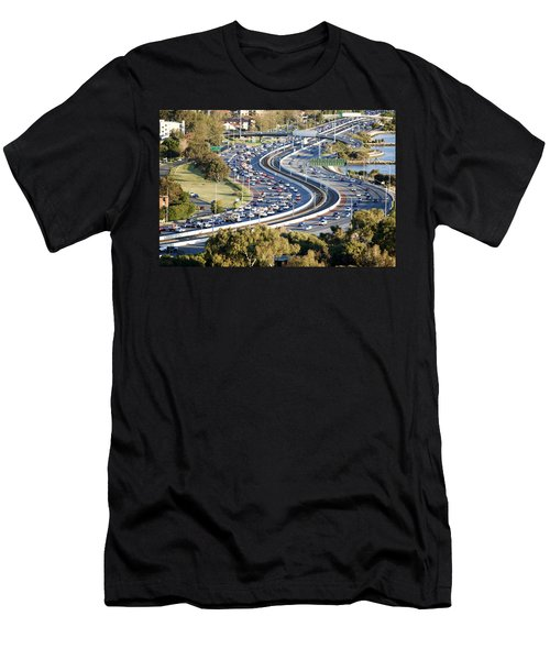 Men's T-Shirt (Slim Fit) featuring the photograph Winding Road by Yew Kwang