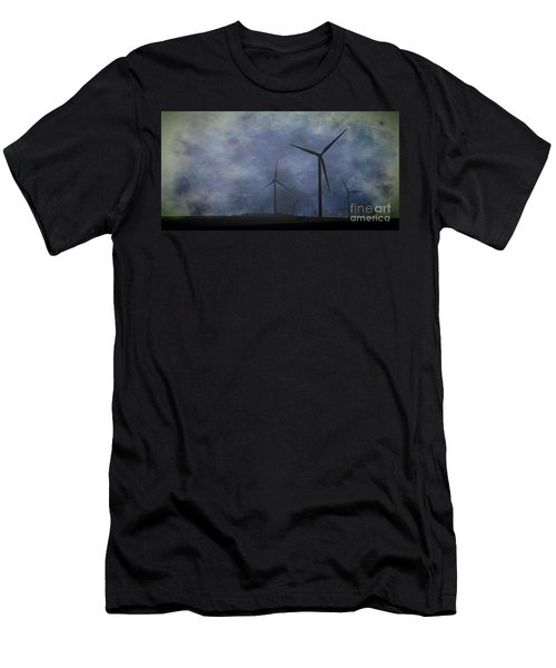 Windmills. Men's T-Shirt (Athletic Fit)