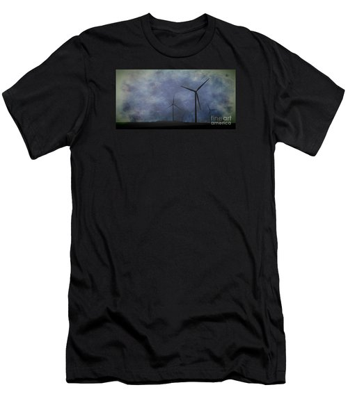 Windmills. Men's T-Shirt (Athletic Fit)